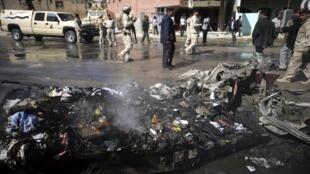 صحنه ای از انفجارهای روزهای اخیر در عراق