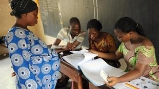 Un bureau de vote à Cotonou lors de la présidentielle du 13 mars 2011.