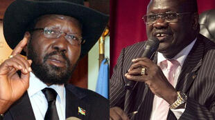 Rais wa Sudan Kusini na kiongozi wa waasi Riek Machar