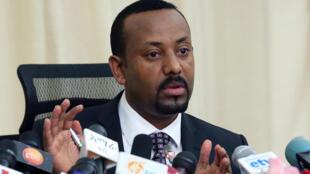 Waziri Mkuu wa Ethiopia Abiy Ahmed (picha ya kumbukumbu).