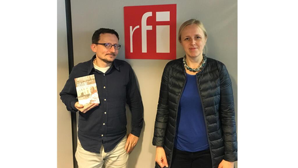 De gauche à droite: Alain Guillemoles et Anna Colin-Lebedev.