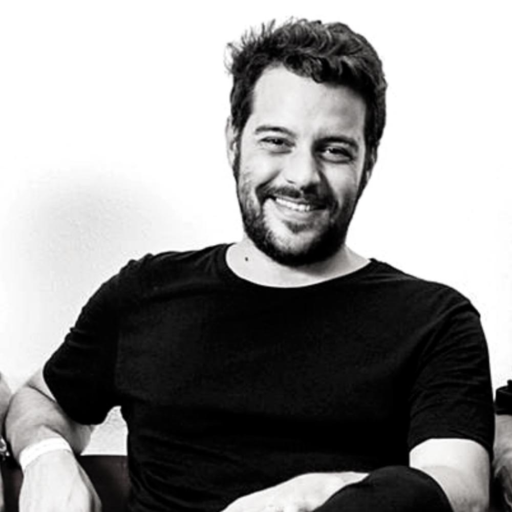 O produtor Rodrigo da Matta, fundador da Yellow Noises.