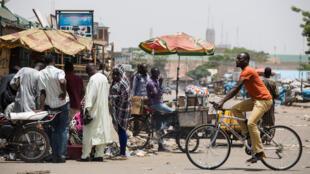Les rues de Kaduna, dans le nord du Nigeria (photo d'archives, mars 2015).