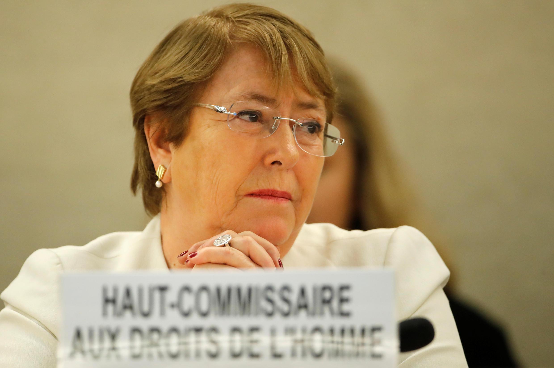 Michelle Bachelet, alta comissária das Nações Unidas para os Direitos Humanos