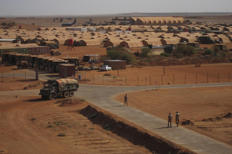 French military base in Gao, northern Mali