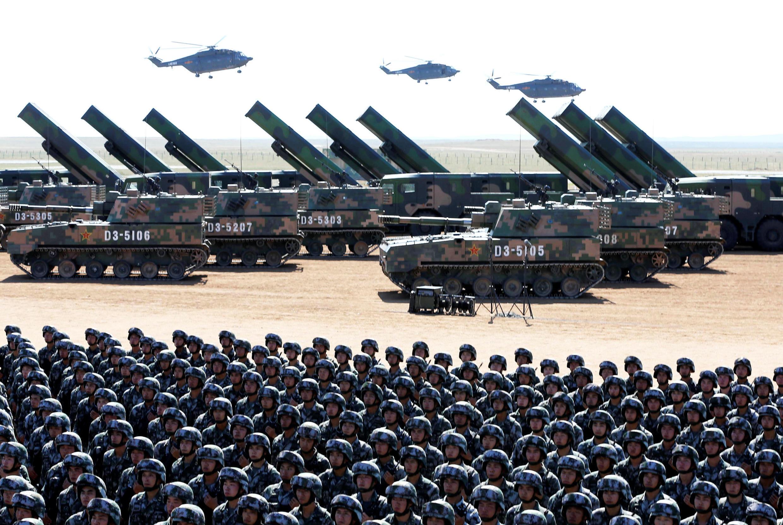 Trung Quốc là quốc gia có quân số đông nhất thế giới với khoảng 2 triệu binh sĩ.
