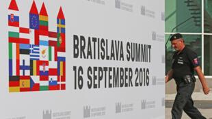 Bratislava's summit is the first EU meeting since Brexit.