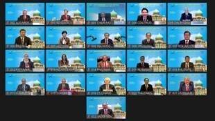 亞太經濟合作會議(APEC)領袖峰會11月20日晚間以視訊方式舉行,會後發布「吉隆坡宣言」。