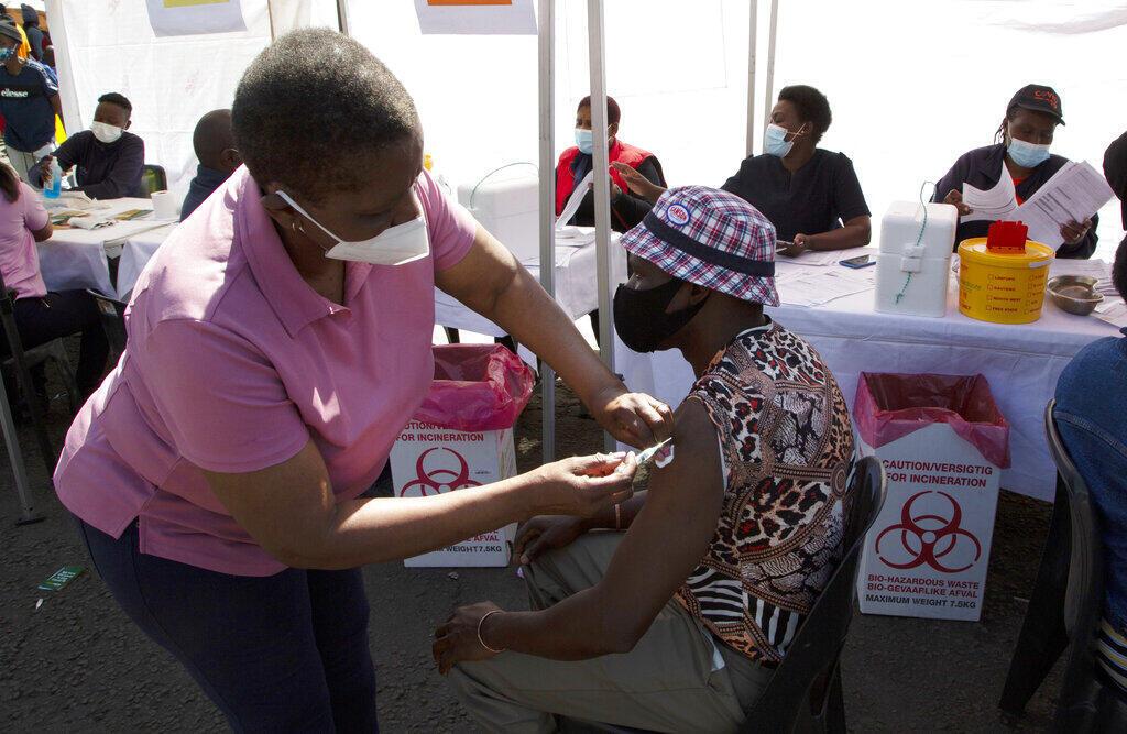 Afrique du Sud - vaccination
