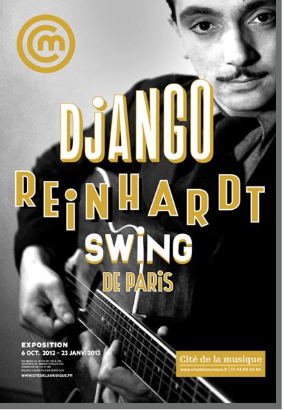 Django Reinhardt é homenageado com exposição em Paris.