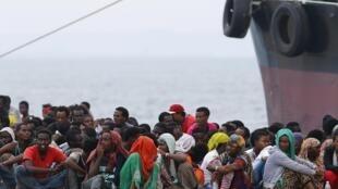 A maioria dos migrantes resgatados são provenientes da África subsariana e da Síria.