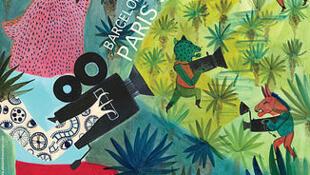 El afiche del Panorama 2015 es obra de la artista franco-colombiana Alexandra Arango.