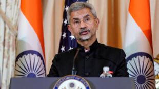 印度外交部长苏杰生资料图片