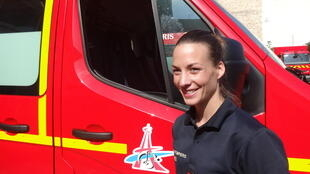 Firefighter Lucille Morel has learned to adapt in her 6 years on the job.