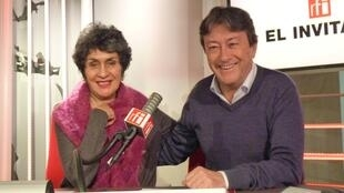 Carmen Hernández y Jordi Batallé en RFI