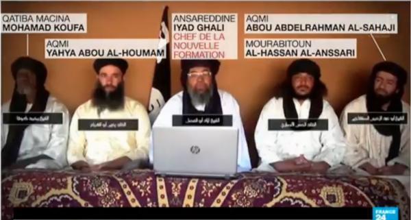 Des jihadistes au Sahel.