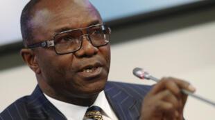 Karamin Ministan Fetir na Najeriya kuma shugaban kungiyar OPEC Ibe Kachikwu taron Vienna