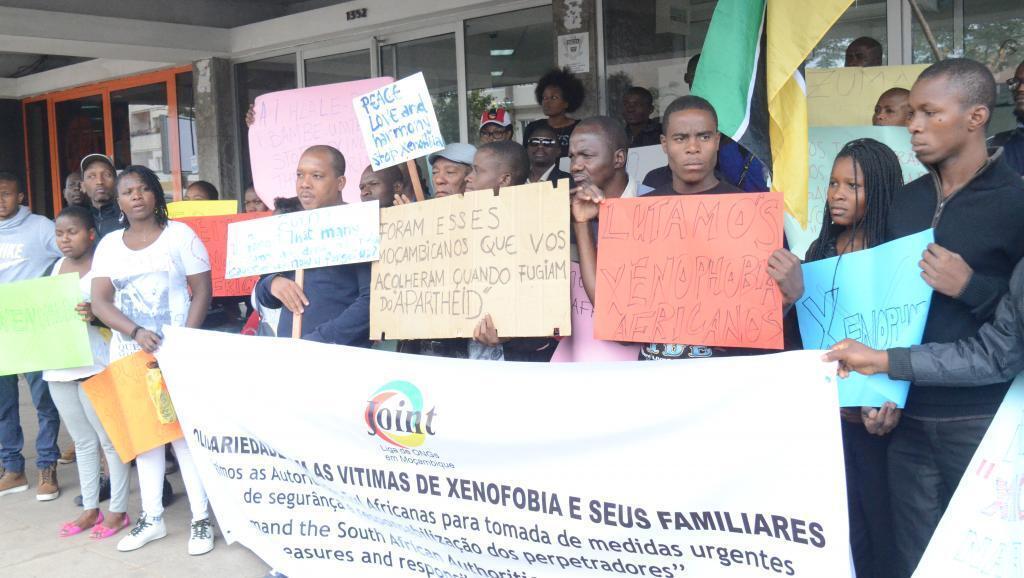 Moçambicanos a denunciar violência na África do sul em 2015