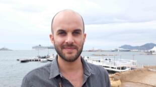 Damien Ounouri, réalisateur algérien de «Kindil el Bahr», présenté à la Quinzaine des réalisateurs au Festival de Cannes.