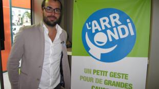 Initiateur de l'arrondi solidaire en France, Pierre-Emmanuel Grange pense pouvoir collecter bientôt des dizaines de millions d'euros.