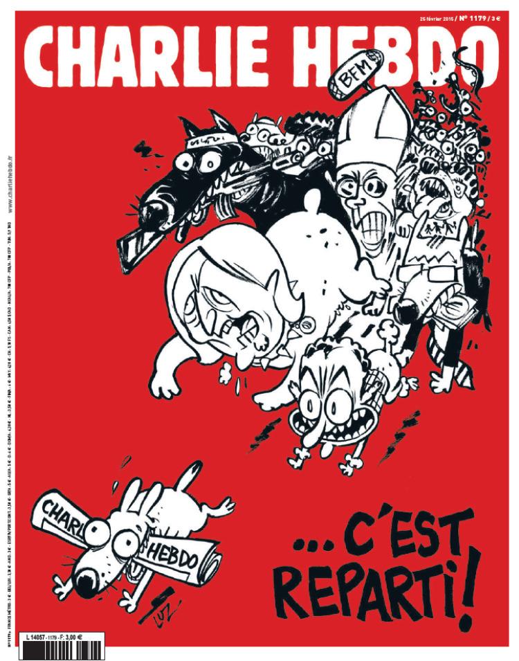 """Новый выпуск """"Шарли Эбдо"""""""