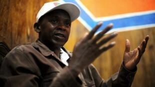 L'ancien chef des Forces nationales de libération, Agathon Rwasa, le 12 mai 2010.