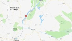 Le village de Yumbi dans la province de Maï-Ndombe, dans l'ouest de la RDC.