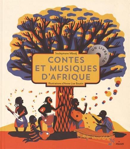 Kitabu cha muziki na hadithi za Kiafrika.