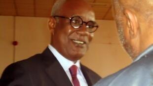 L'ancien ministre de l'Intérieur, Marafa Hamidou Yaya, avant l'ouverture de son procès, le 16 juillet 2012 à Yaoundé.