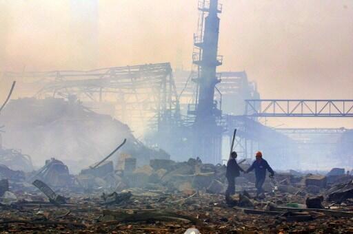 L'explosion du complexe chimique AZF de Toulouse est la pire catastrophe industrielle en France depuis 1945.