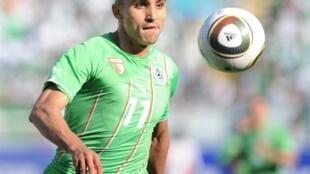 Rafik Djebbour et les Algériens se sont relancés en éliminatoires de la CAN 2012.