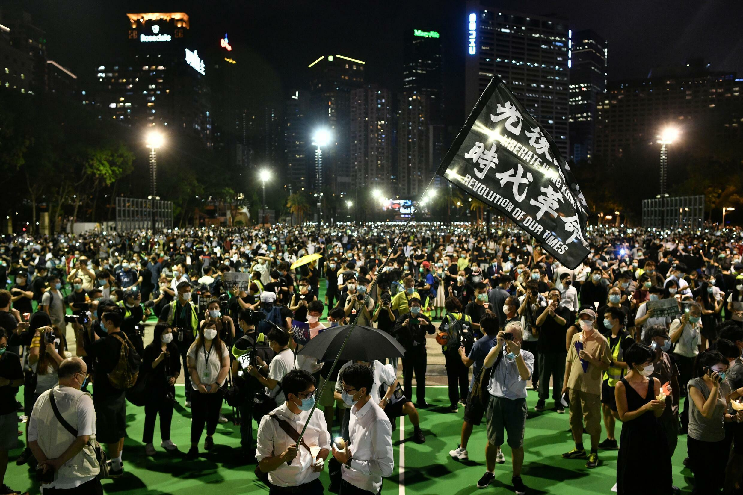 The Hong Kong Alliance had organised three decades of vigils commemorating the victims of Beijing's Tiananmen Square crackdown in 1989