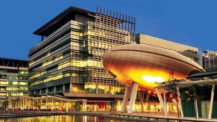 香港科学园的高锟会议中心资料图片