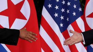 O presidente dos EUA, Donald Trump, e o líder da Coreia do Norte, Kim Jong Un, já se encontraram duas vezes.