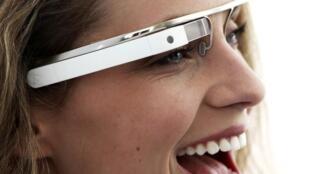 Un prototype des lunettes de Google.