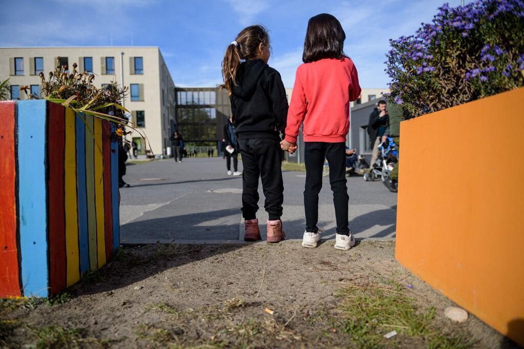 Allemagne - réfugiés  venus de Bielorrussie et de Pologne
