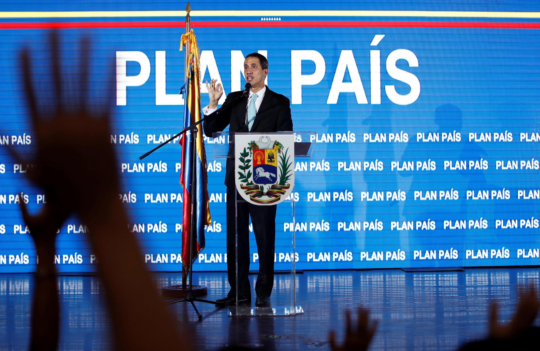 Lãnh đạo đối lập Juan Guaido tại Caracas, Venezuela, ngày 31/01/2019.