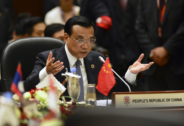 Thủ tướng Trung Quốc Lý Khắc Cường trong buổi khai mạc Thượng đỉnh ASEAN - Trung Quốc, tại Brunei ngày 09/10/2013