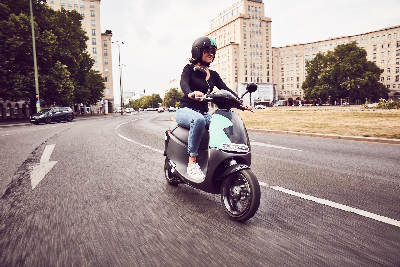 Le scooter Coup, à Berlin depuis l'été 2016, et à Paris à l'été 2017