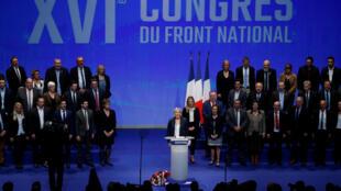 União Nacional é a nova designação do partido de extrema-direita em França