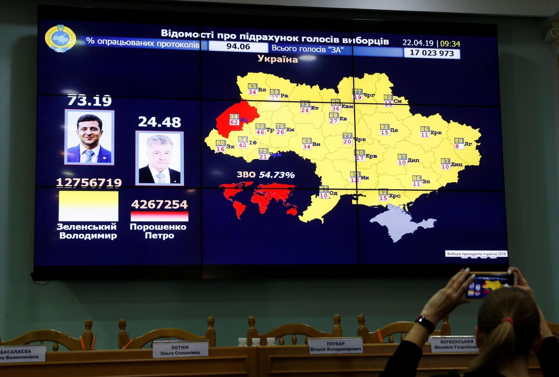 ЦИК Украины 22 апреля 2019
