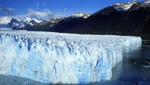 El glaciar Perito Moreno en Patagonia, Argentina.