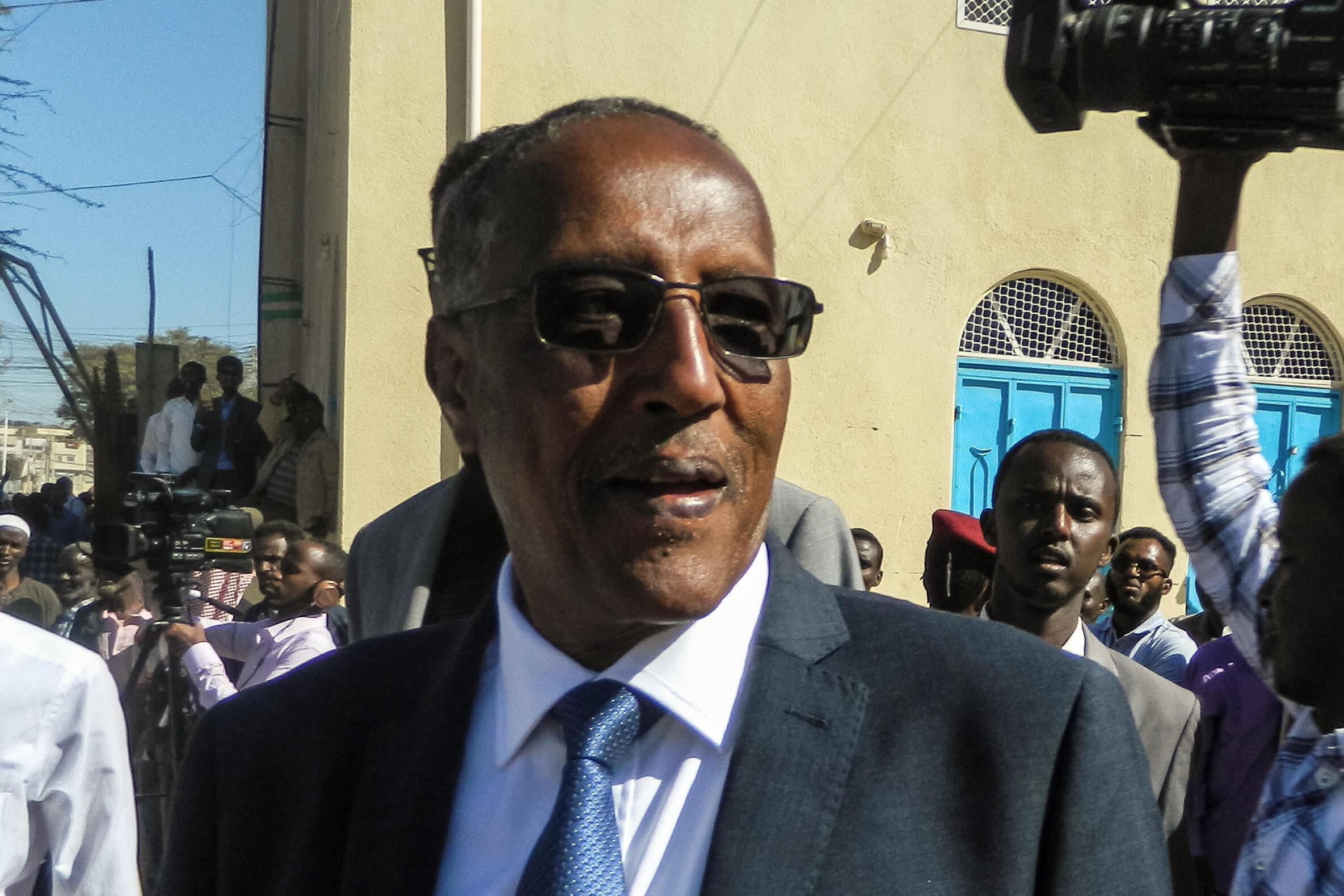 Muse Bihi Abdi, rais wa Somaliland, Novemba 13, 2017 huko Hargeisa. (Picha kumbukumbu)