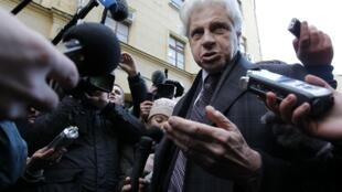Адвокат Генри Резник, Москва, 15 ноября 2011 года