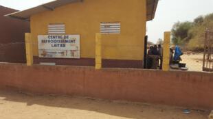 Sénégal - centre de refroidissement laitier - Dealy - Le coq chante