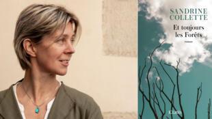 Portrait de Sandrine Collette, romancière française.