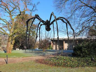 A aranha gigante da artista plástica Louise Bourgeois