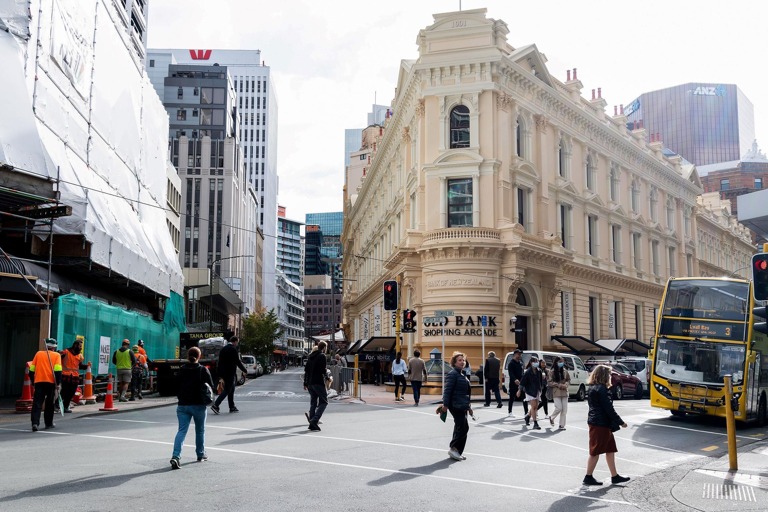 There was sustained shaking from the quake in Wellington