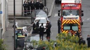 L'attaque a été commise devant le 10, rue Nicolas-Appert, dans le XIe arrondissement de Paris.