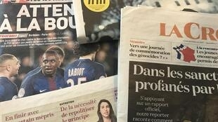 Primeiras páginas dos diários franceses 10/2/2017